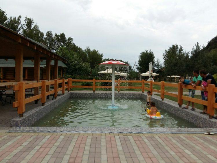 басейн для самих маленьких відвідувачів